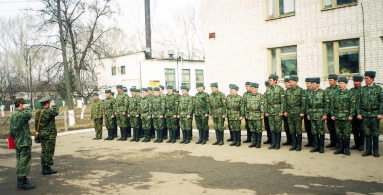 построение личного состава ЦВС 2006