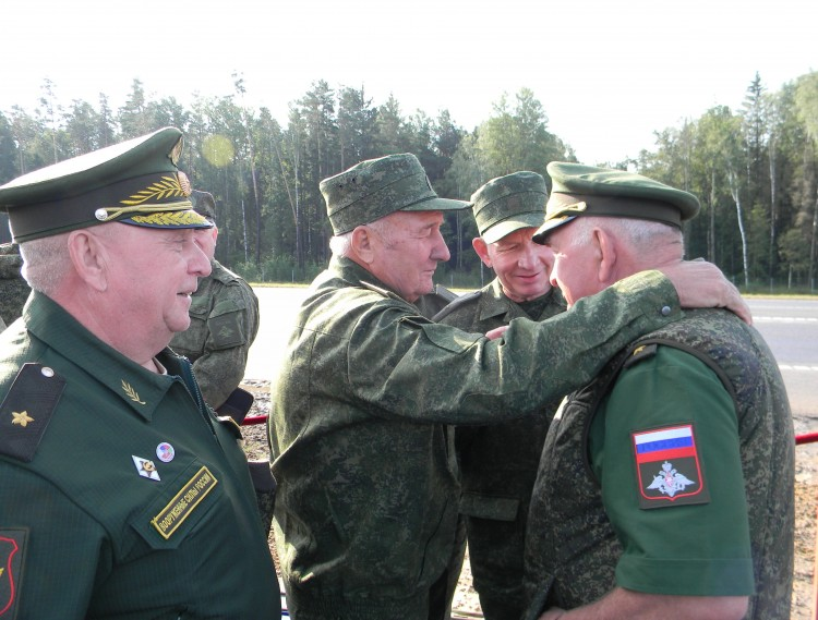 встреча боевых соратников