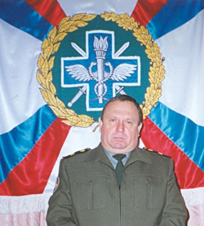 штандарт ВСС ВС РФ, сопвтор проекта В.П.Ветров.1995г