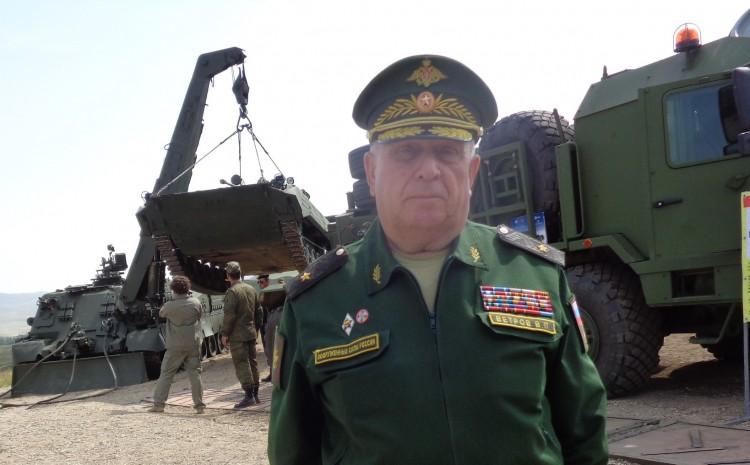 генерал-майор ветеринарной службы В.П. Ветров а