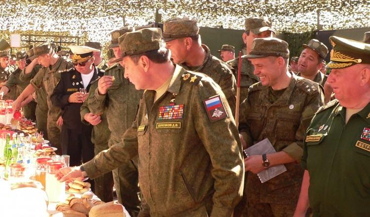 командование ВС РФ в полевых условиях