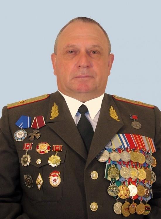 генерал-майор ветеринарной службы Ветров Виталий Петрович
