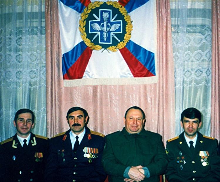 в Управлении ВСС ВС РФ