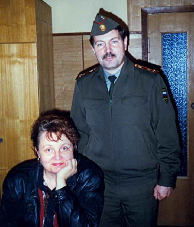 Галина и Владимир Бурков