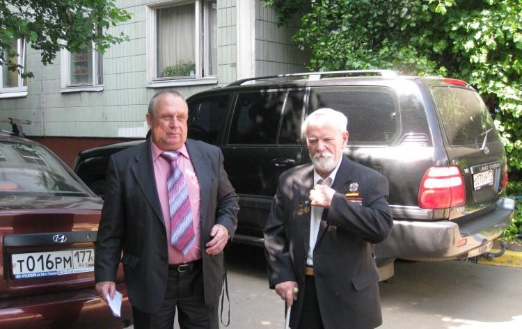 генерал Виталий Ветров и академик Н.Ф.Шуклин