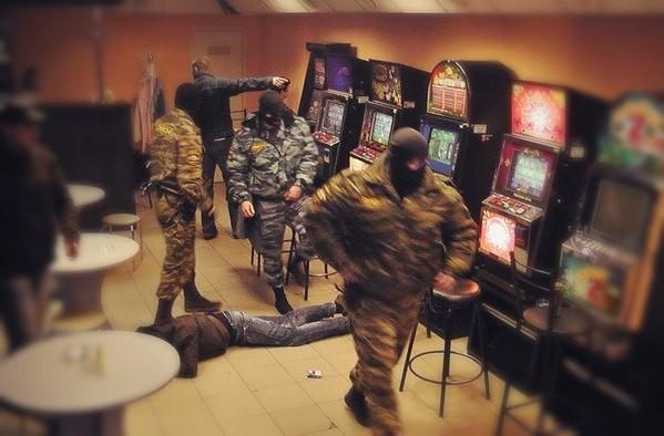 Силовая борьба с казино и игроматами