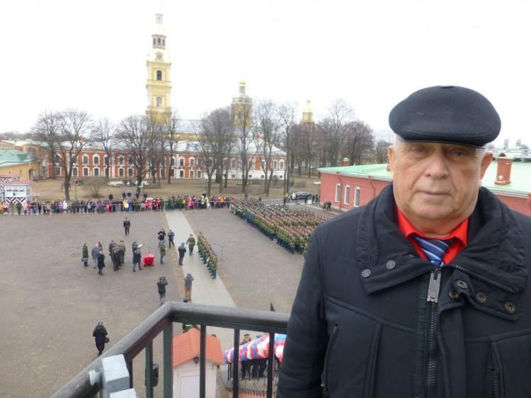 Ветров Виталий в Петропавловской крепости
