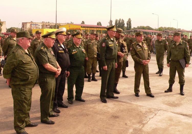 В южном военном округе с командованием ВС