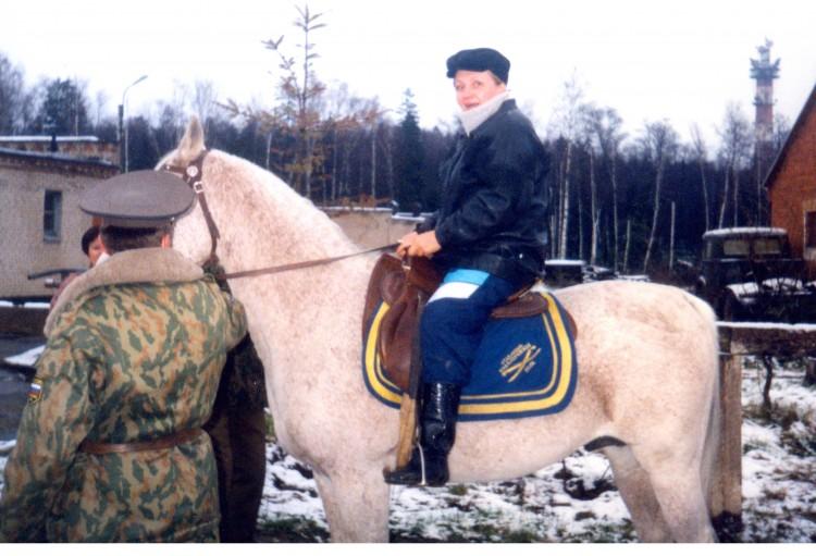 Галина в 11 гв. кавалерийском полку