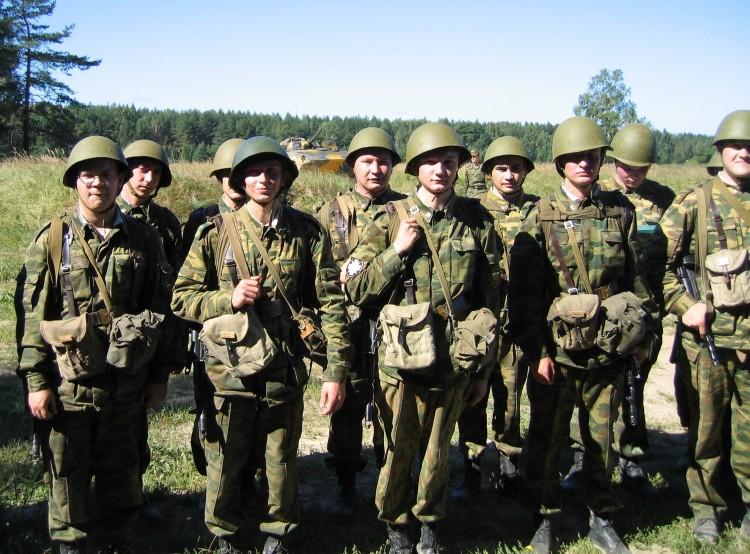 занятия курсантовВВИ по тактике боя